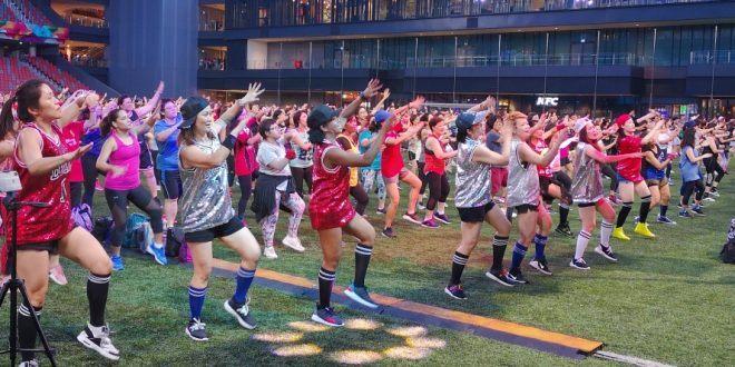 Largest Mass K-Kardio Dance