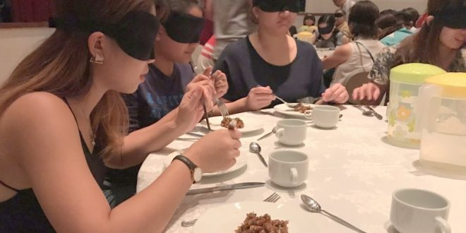 Largest Blindfolded Dining