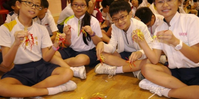 Most Number Of People Tying Chinese Knots