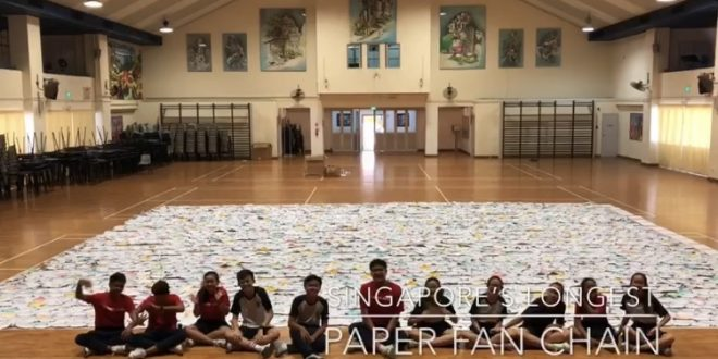 Longest Paper Fan Chain