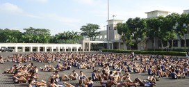Most Number Of People Doing Synchronised Push-Ups & Sit Ups