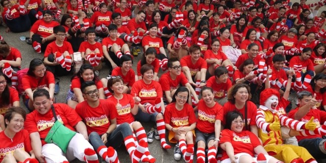 Largest Gathering Of People Wearing Socks In A Similar Pattern