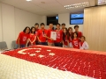 Largest Singapore Flag Made Of Angkukuehs