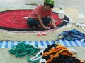 Largest Braided Mat Made From Recycled Cloth