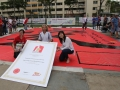 Largest Chinese Character Handpainted By A Team