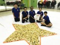 largest logo amde of paper fortune cookies (15)