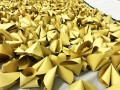 largest logo amde of paper fortune cookies (16)