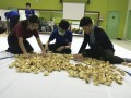 largest logo amde of paper fortune cookies (5)