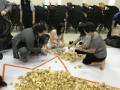 largest logo amde of paper fortune cookies (6)