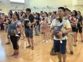 largest mass baby wearing dance (7)