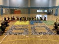 largest text formation made of paper airplanes (11)