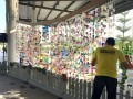 Largest Wind Chime Made Of Cultured Milk Bottles (17)