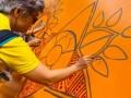 largest zentangle art display (2)