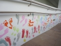 Longest Footprint Wall