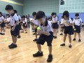 bouncing tennis balls together (4)