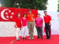 Largest National Flag Made Of Plastic Bag Flowers