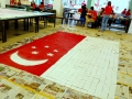 Largest National Flag Made Of Coasters