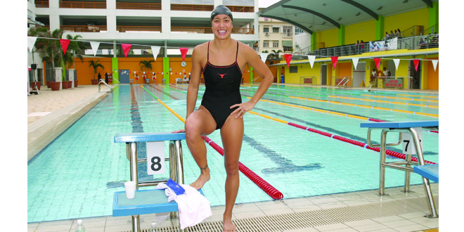 Longest Competitive Swimming Career