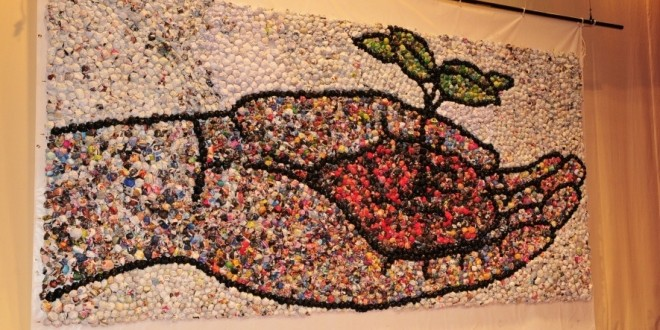 Largest Paper Ball Mosaic
