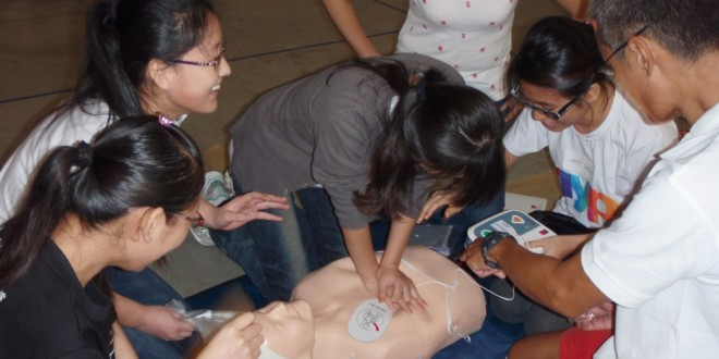 World's Largest Automated External Defibrillator Training Session