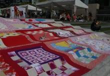 Largest Patchwork Blanket