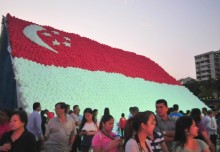 Largest National Flag Made Of Balloons