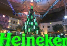 Largest Christmas Tree Made Of TV Screens