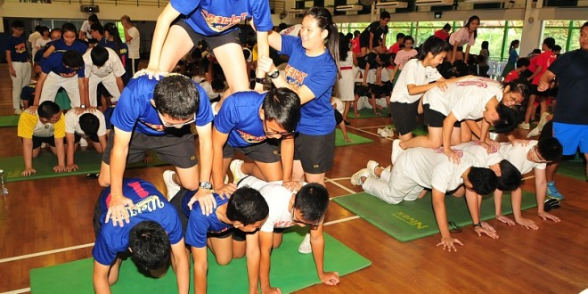 Largest Formation Of Human Pyramids