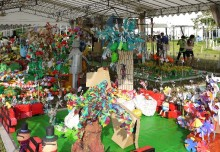 Largest Garden Made of Recycled Materials