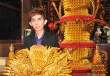 Largest Incense Paper Sculpture