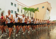 Most Number Of People Running In Synchronised Steps