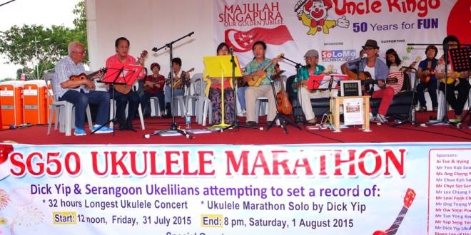 Longest Ukulele Concert and Marathoner
