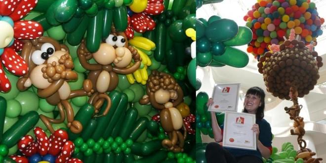 Tallest Balloon Sculpture