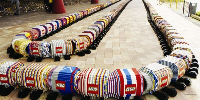 World's Longest Lego Millipede