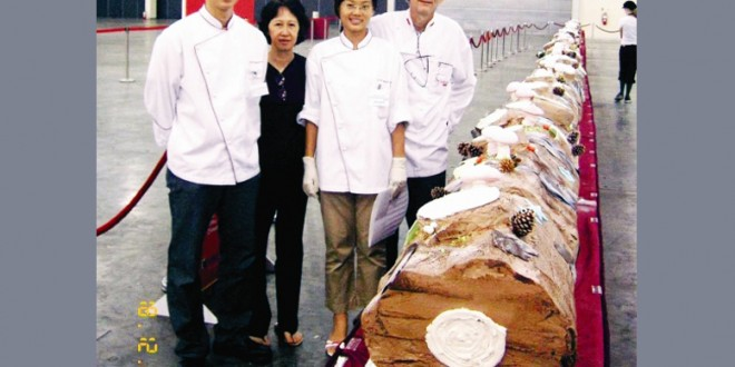 World's Longest Log Cake