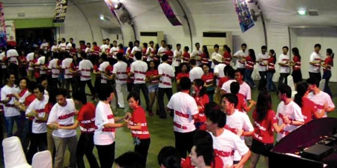 World's Largest Rueda Dance Circle