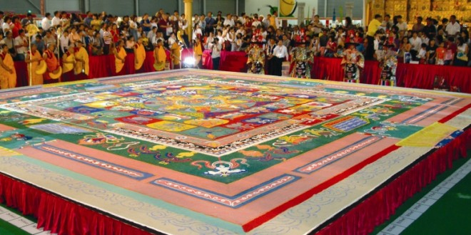 World's Largest Sand Painting