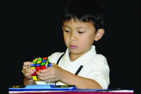 Youngest To Solve A Rubik's Cube Below 1 Min