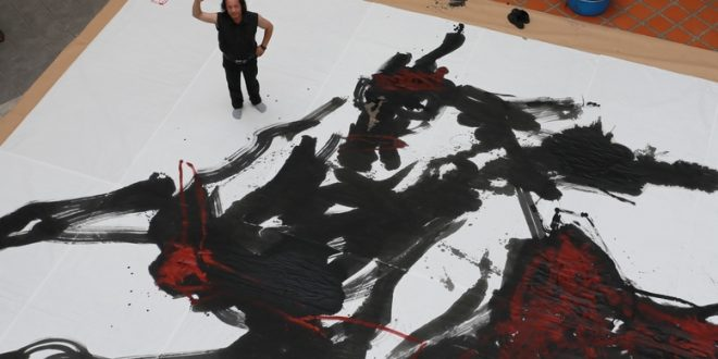 Largest Chinese Brush Painting