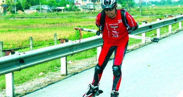 World's Longest Journey On Skates