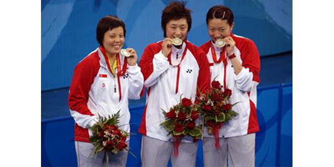 First Team Silver At Olympics