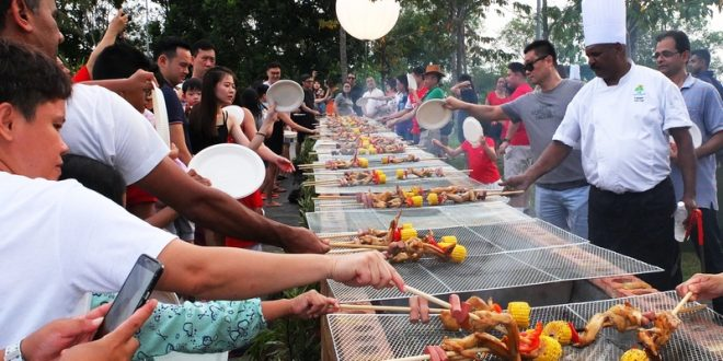 Most Number Of People Barbecuing Together
