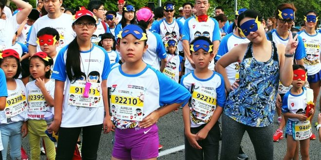 Largest Mass Run Wearing Masks