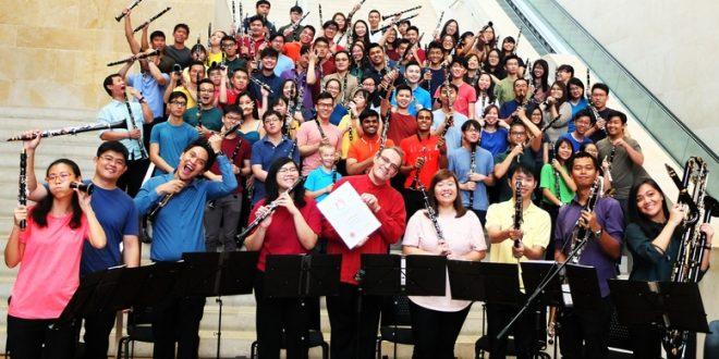 Largest Clarinet Ensemble