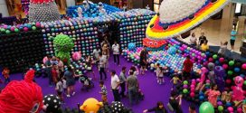 Longest Balloon Tunnel