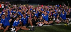 Largest Parent And Child Football Coaching Clinic