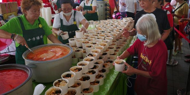 Largest Serving Of Vegetarian Laksa
