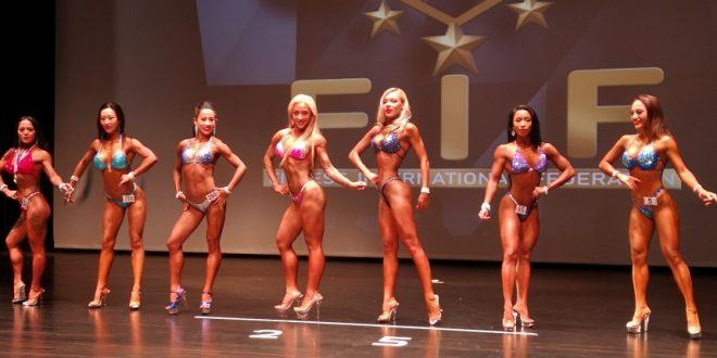Largest Body Building And Sports Models Competition