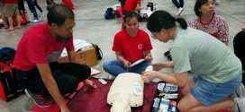 Largest Mass CPR + AED Certification Workshop