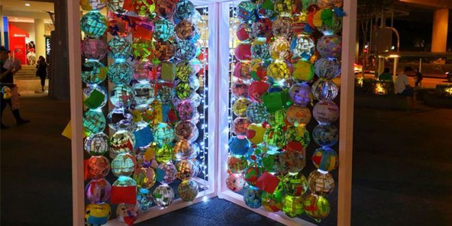 Largest Display Of Papier Mache Lanterns